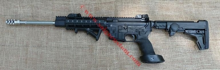 AR15 300AAC Blackout SS Fluted 16