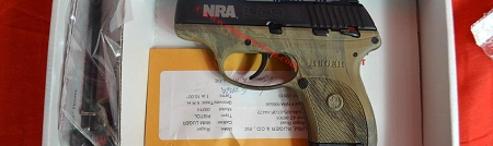 Ruger LC9 NRA Pistol  USED