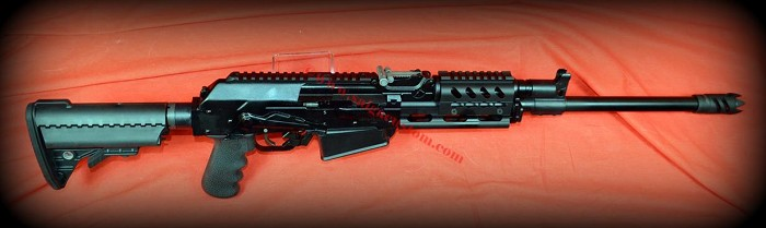 Vepr 12 Key Mod Fore Grip, Fixed Adjustable Stock